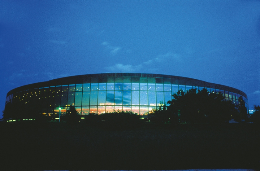 Brucknerhaus in Linz at the Danube River, Concert Hall