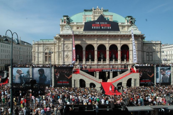 Mission Impossible Premiere in Vienna