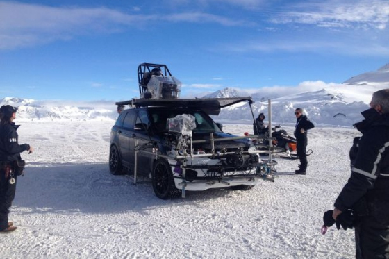 Bond-Shooting in Sölden