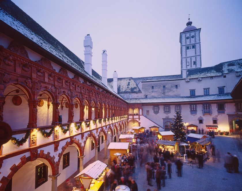 Christmas Market at Schallaburg, Lower Austria