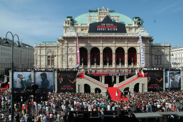 Mission Impossible Premiere Vienna